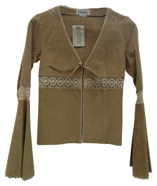 Preload https://img-static.tradesy.com/item/129727/charlotte-russe-tan-suede-leather-jacket-size-6-s-0-0-650-650.jpg