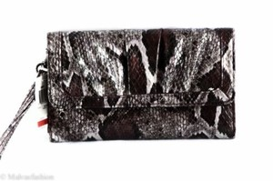 Style & Co Nwtstyleco. Sassy Check Clutch Wristlet Wallet Purple Snake