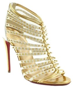 Christian Louboutin Spiked Millaclou High Heel Sandals Multi-Color Pumps