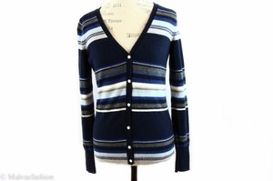 Lucky Brand Jeans Striped Cardigan Sweater