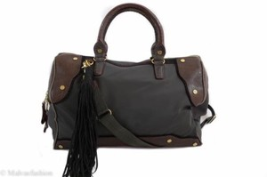 MZ Wallace Steel Bedford Satchel in Multi-Color