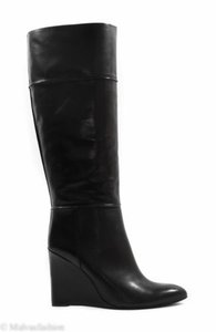 Tory Burch Boot Wedge Black Boots