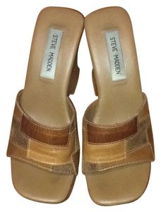 Steve Madden Brown patch Sandals