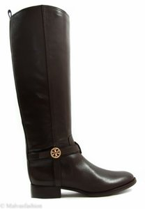 Tory Burch Riding Brown Boots