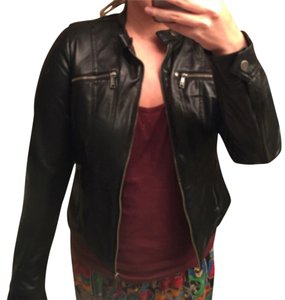 Macy's Leather Jacket
