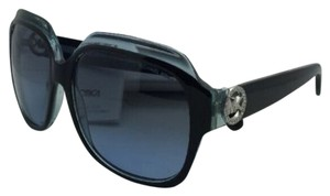 Michael Kors New MICHAEL KORS Sunglasses CRETE MK 6002B 300117 Black & Blue Frame w/Grey to Fade Blue Lenses