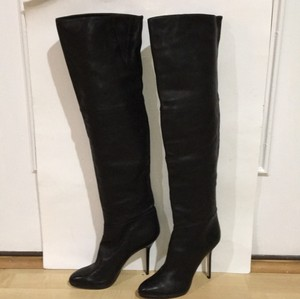 Jimmy Choo Thigh High Black Boots