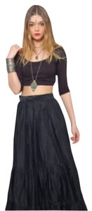 Francesca's Maxi Skirt Black