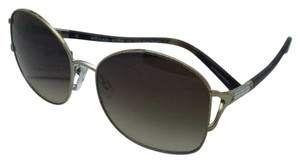 Michael Kors New MICHAEL KORS Sunglasses PALM BEACH MK 1004B 100313 Gold & Tortoise Frame w/ Brown Gradient Lenses