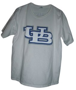 Gildan College Soccer University T Shirt White