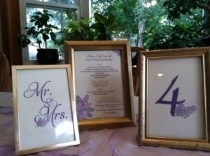 Gold Picture Frames 32 Total Reception Decoration
