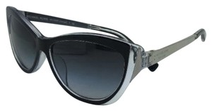 Michael Kors New MICHAEL KORS Sunglasses CANEEL MK 2005F 303311 Black & Clear Frame w/ Grey Gradient Lenses