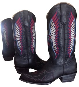 Old Gringo Leather Black Boots