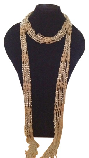 Preload https://item5.tradesy.com/images/champagne-beaded-accents-scarfwrap-1297679-0-0.jpg?width=440&height=440