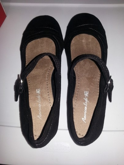 American Eagle Outfitters Mary Jane Brand New Buckle Black Flats