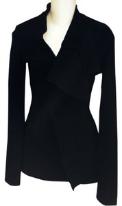 Jean-Paul Gaultier Form Fitting Draping black Blazer