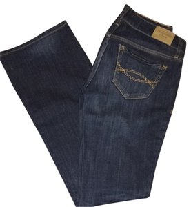 Abercrombie & Fitch Flare Leg Jeans-Distressed