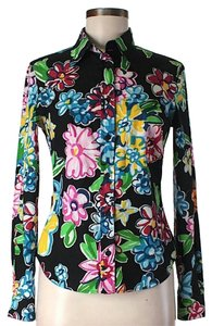 Moschino Floral Button Down Shirt