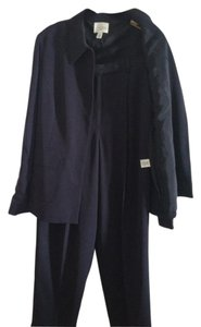 A Line by Anne Klein Navy Blue Anne Klein Pants Suit (size 12 bottom/size 14 jacket)