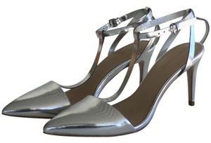 Zara Silver Pumps