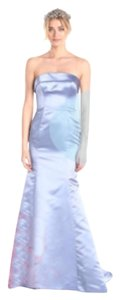 Adrianna Papell Satin Strapless Gown Dress