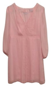 Jessica Simpson short dress Light Pink/Blush Spring Summer Longsleeve on Tradesy