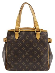Louis Vuitton Batignolles Satchel in Brown