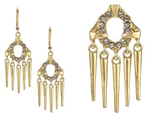 Sam Edelman Spiked Drop Earrings