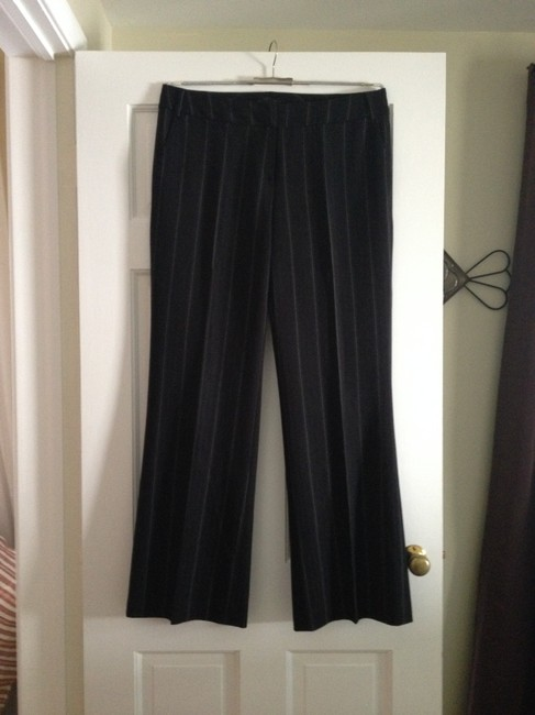 Focus 2000 Trouser Pants Black with white and grey dotted stripes