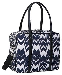 Missoni for Target Black Chevron Print Travel Bag