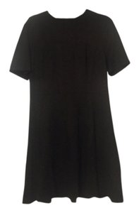 FATE short dress Black Suede on Tradesy
