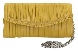 Elie Tahari Yellow Clutch