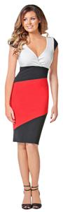 New Sexy Colorblock Bodycon Dress
