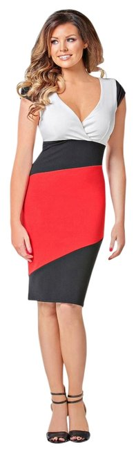 Preload https://img-static.tradesy.com/item/12982783/multicolored-new-sexy-colorblock-bodycon-cute-summer-knee-length-workoffice-dress-size-4-s-0-1-650-650.jpg