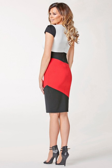 Other New Sexy Colorblock Bodycon Cute Summer Dress Image 3