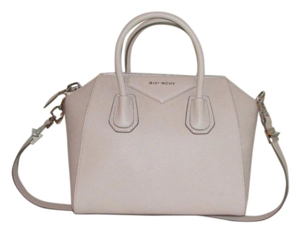 f5830e3ba320 Givenchy Small Antigona Powder Pink Grained Leather Shoulder Bag ...