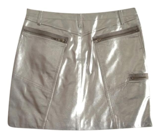 Preload https://item4.tradesy.com/images/new-identity-silver-leather-miniskirt-size-8-m-29-30-1298308-0-0.jpg?width=400&height=650