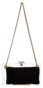 Charlotte Olympia Clear With Gold Clutch