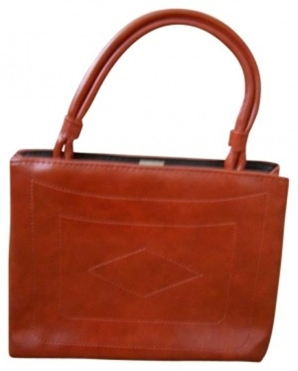 Preload https://item3.tradesy.com/images/purse-orange-leather-satchel-129837-0-0.jpg?width=440&height=440