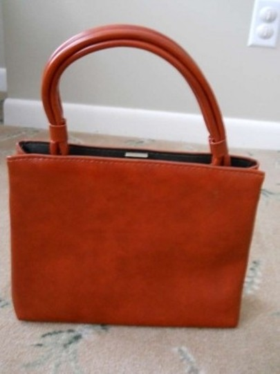 Vintage Satchel in Orange