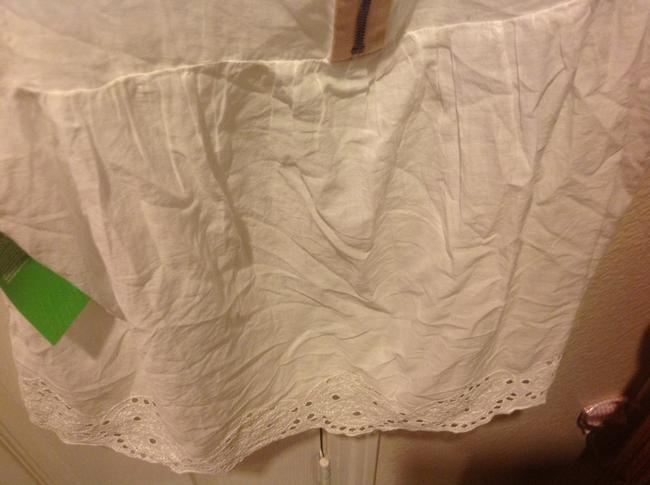 H&M With Tags H& M Organic Collections.. Eyelet Trim Top White Image 6
