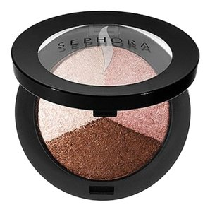 Sephora MicroSmooth Baked Eyeshadow Trio COLOR 03 Sunset Neutral with Pink