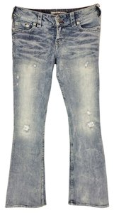 1921 Jeans Boot Cut Jeans-Distressed