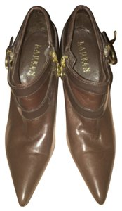 Ralph Lauren Brown/Dark Brown Boots