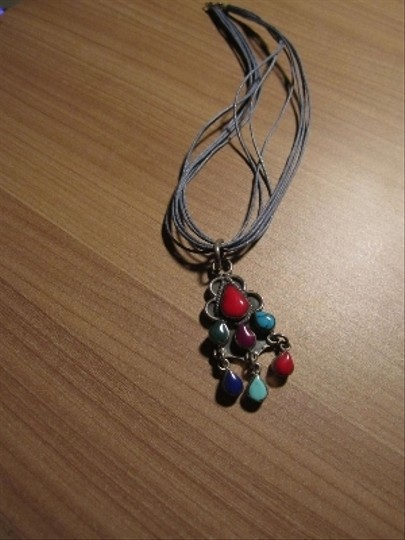Unknown Bohemian Style Stone Necklace