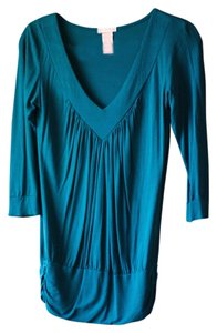 Other Casual Blouse V-neck Office Everyday Essential Timeless Tunic