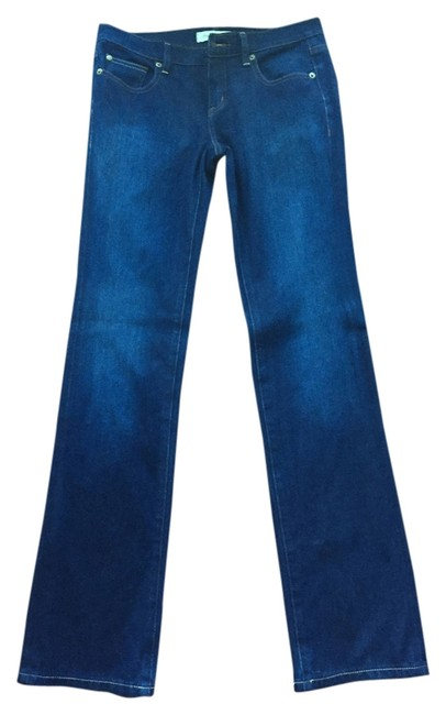 Item - Blue Denim Dark Rinse Straight Leg Jeans Size 26 (2, XS)