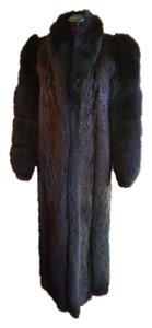 Fur Floor-length Fur Coat