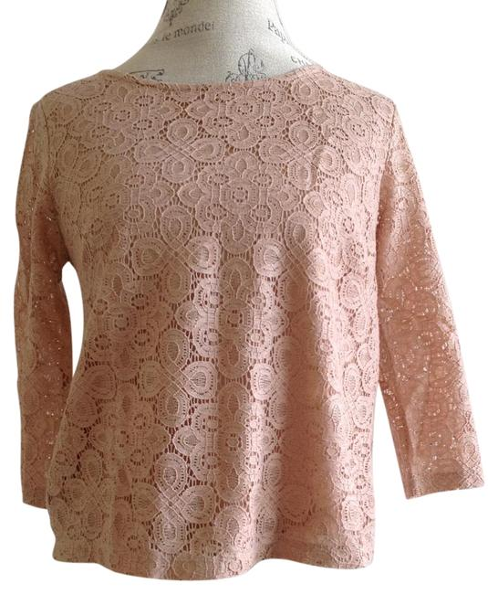 Forever 21 Lace Top Beige
