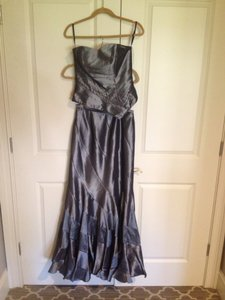 Pewter Bridesmaid/Mob Dress Size 6 (S)
